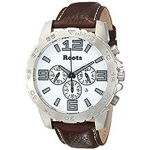 Roots Men's 1R-LF604WH2C Nominigan Analog Display Japanese Quartz Brown Watch