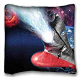 Soft Pillow Case Cover ( Anime Be Forever Yamato ) Standard Size Pillowcase for Hair & Facial Beauty Size 16x16 Inches suitable for Queen-bed PC-Purple-11757