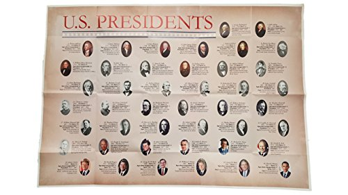 Superior Mapping Company U.S. Presidents Wall Poster Size Wall Poster 40