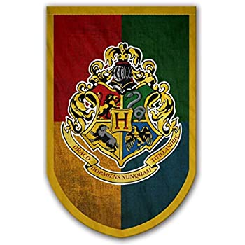 Amazon.com: AuthenticUSA Harry Potter Hogwarts House Banners ...