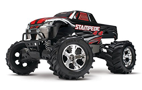 Traxxas Stampede 4X4: 1 10 Scale 4wd Monster Truck with TQ 2.4GHz Radio - Black