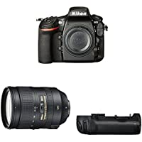 Nikon D810 FX-format Digital SLR Super Zoom Lens Kit w/ Battery Grip