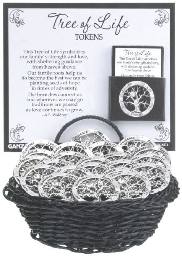 Tokens Metal Charm - Ganz Tree of Life - Tokens (Sold Separately - You Will Get 1)