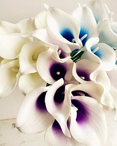 jiumengya-20pcs-Blue-Heart-Color-Artificial-Real-Touch-Calla-Lily-Life-Like-Callas-Flower-for-Wedding-Bouquet-Artificial-Decorative-Flowers-Blue