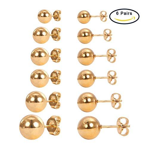 PandaHall Stainless Earrings Diameter Jewelry