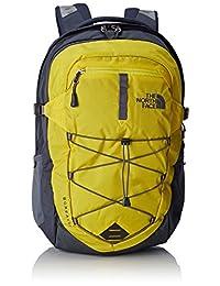 North Face Borealis Hiking Backpack One Size Acid Yellow Turbulence Grey