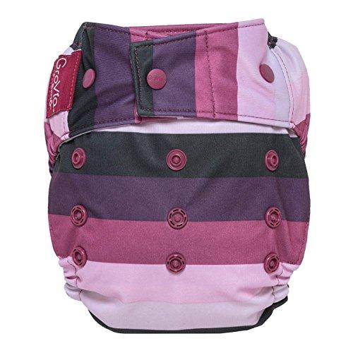 GroVia Reusable Hybrid Baby Cloth Diaper Snap Shell (Sugar ()