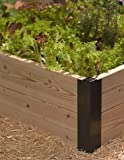 Raised Bed Corners, 10 Inch Set of 2 Aluminum