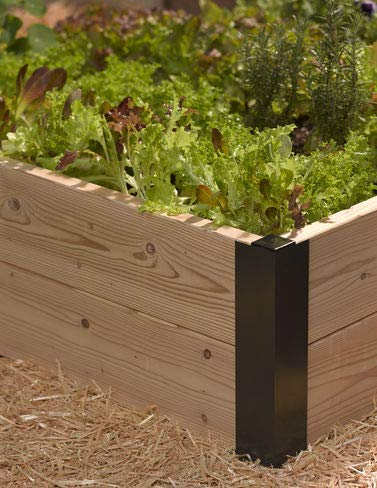 "23"" Raised Bed Corners, Set of 2"