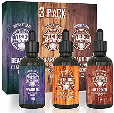 Beard Oil Conditioner Pack