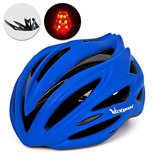 Blue bike helmet women