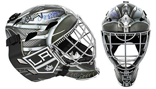 Rogie Vachon Signed Los Angeles Kings Replica Hockey Goalie Mask w/HOF'16