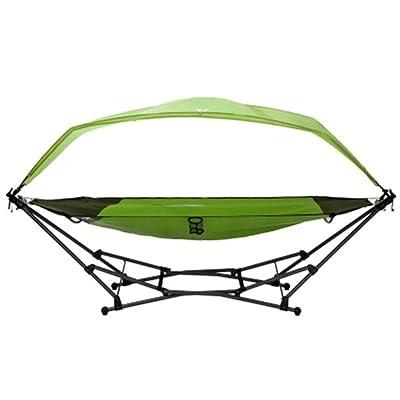 Vert extérieur grand hamac pliant adulte ombre toile berceau chaise berceau intérieure balançoire