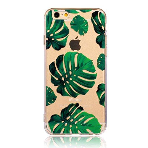 big sale 8b0e4 7d682 Leminimo iPhone 6 Plus Case, Tropical Crystal Clear TPU - Import It All