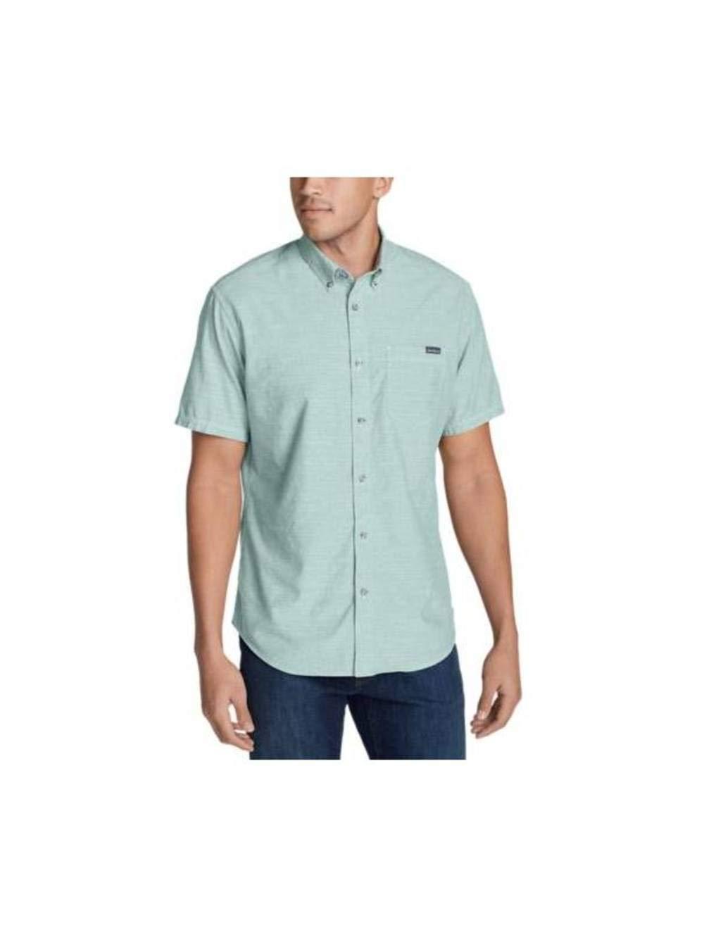 Eddie Bauer Men's Grifton Short-Sleeve Shirt - Solid