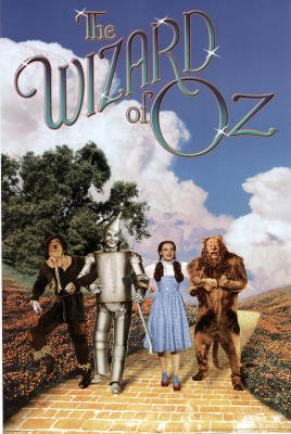 The Wizard Of Oz Poster Foursome New Dorthy 2 Rare 4545 Collections Poster Print, 24x36 ()