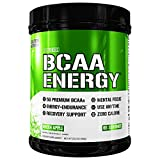 Evlution Nutrition BCAA Energy - High Performance, Energizing Amino Acid Supplement for Muscle Building, Recovery, and Endurance, Green Apple (65 Servings)