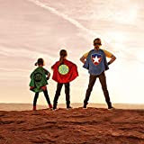 Roko Toys for 3-10 Year Old Boys, Superhero Capes