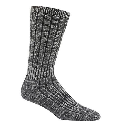 Wigwam F2337 Men's Merino Silk Hiker Socks, Charcoal - MD
