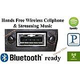 Custom Autosound Stereo + BLUKIT compatible with 1973-1988 Chevrolet Truck, USA-630 II Bluetooth Enabled High Power 300 watt AM FM Car Stereo/Radio