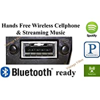 Bluetooth Enabled 1973-1988 Chevy Truck USA-630 II High Power 300 watt AM FM Car Stereo/Radio