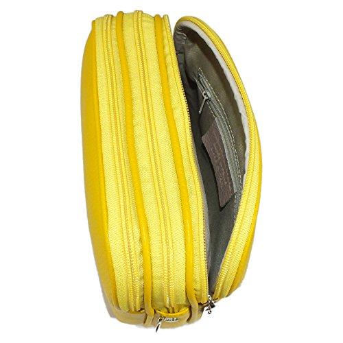 cruzados Bolso BAG Small Cuero mujer Amarillo IS de para amarillo wCEqq5P