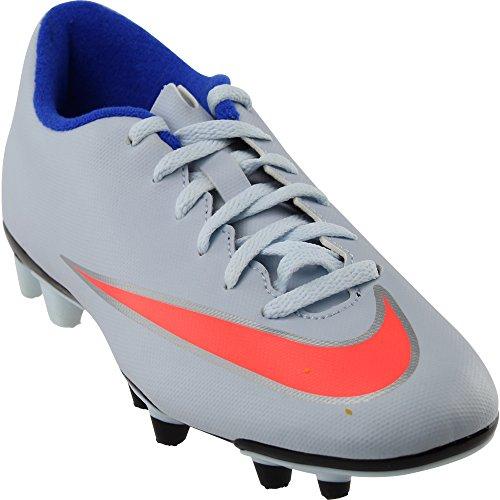 New Nike Womens Mercurial Vortex II FG Soccer Cleat Blue Tint/Mango 7 by NIKE