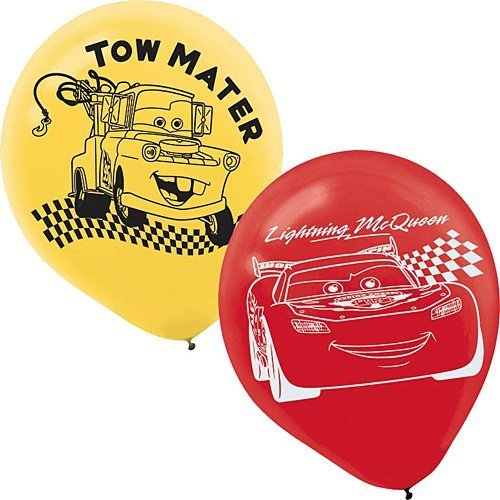 Disney Cars 6 Ct Latex Balloons Party Decorations by Discount Party Supplies and More
