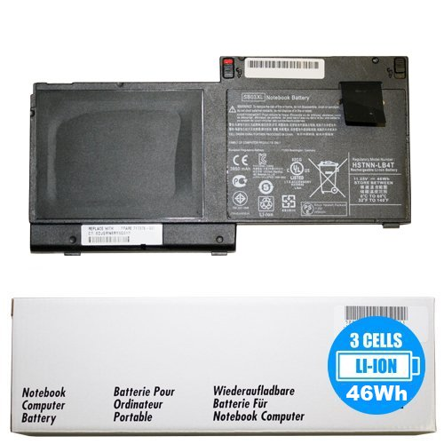 New SB03XL battery for HP Elitebook 820 G1, 820 G2, 720 G2 11.1V 46Whr 3-Cell Primary Battery 717378-001 E7U25UT E7U25AA SB03046XL-PL