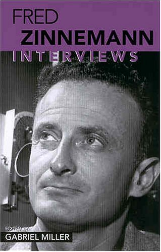 Fred Zinnemann: Interviews (CONVERSATIONS WITH FILMMAKERS SERIES) pdf epub