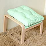 AIDELAI Stool Footrest Sofa Foot Stool Solid Wood Fabric Sofa Stool Simple Pregnant Women Foot Footstool Casual Stool Saddle Seat ( Color : #5 )