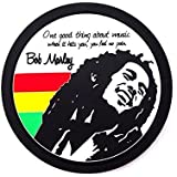 420 Rasta Weed Party Decorations Rastafari Bob Marley Silicone Coasters Set of 4