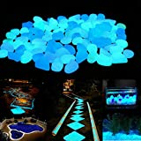 Cheap 150 Pcs Glow in The Dark Pebbles for Walkways Gardens Decorative Glow Stones Rocks for Indoor and Outdoor Decor