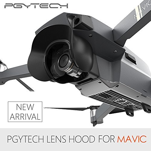 PGYTECH Lens Hood Sun Shade Glare Shield Lens Camera Protector for DJI Mavic Pro Anti Flare