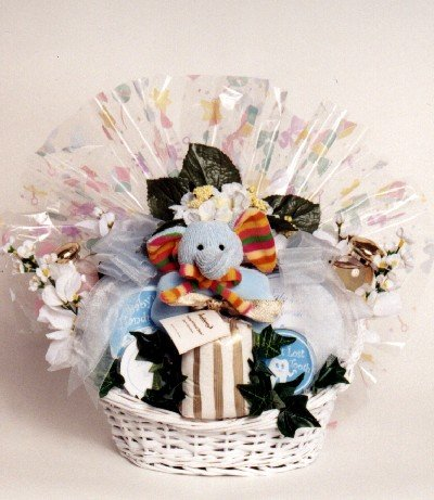 New Mommy's Spa and Baby Gift Basket | Great Baby Shower Gift Basket (Organic Stores Gift Baskets)