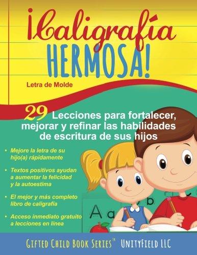 Caligrafa Hermosa!: Letra de Molde. (Spanish Edition)