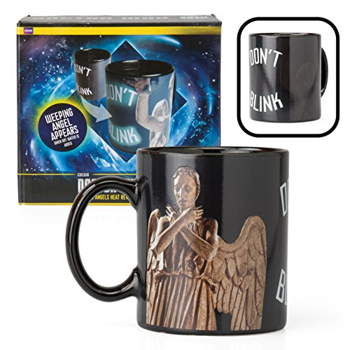 Doctor Who Weeping Angel Coffee Mug