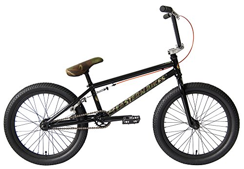 "Eastern Bikes Javelin BMX Bicycle with Camouflage, Gloss Black, 20""/One Size"