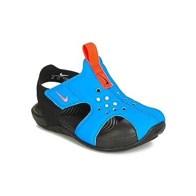b37a1d8843 Nike Toddler Kid's Sunray Protect 2 Sandal, Photo Blue/Bright Crimson-Black,
