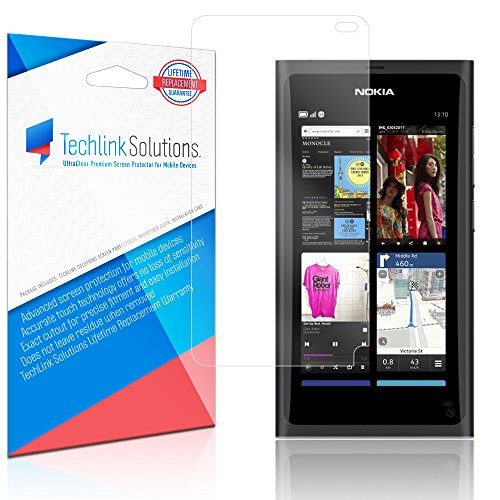 TechLink Solutions UltraClear (6-Pack) - Nokia N9 Screen