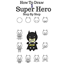 How to draw Super Hero: 6 Marvel Character Draw Step By Step (Green Lantern,Batman, Nick fury,Daredevil,Super Man,Thor) Volume 1