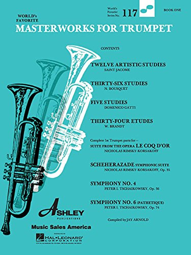 Masterworks for Trumpet Book 1: World's Favorite #117