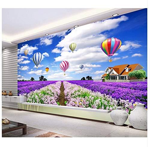 3D Wallpaper Murals Customize DIY 3D Wallpapers Murals for Kids Room Wallpaper for Walls 3 D Home Decor Hot Air Balloon Wallpapers Papel De Parede Silk Cloth 120X80cm,Ayzr