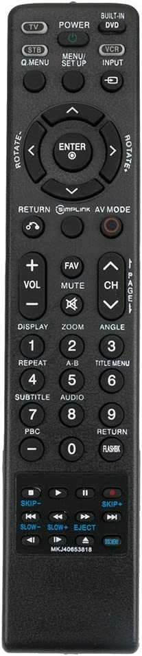 New MKJ40653818 Replace Remote fit for LG TV 26LG40 32LG40 26LG40-UA 26LG40-UG 32LG40-UA 32LG40-UG 26LG40UA 26LG40UG 32LG40UA 32LG40UG