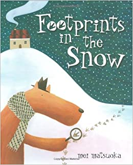 Image result for footprints in the snow book