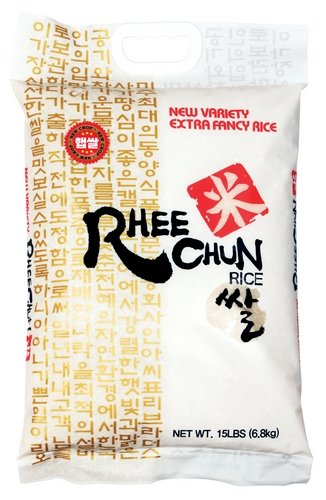 Rhee Chun Extra Fancy New Variety Rice, 15 Pound by Rhee Chun