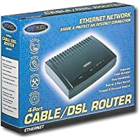 Dynex Dx-e401 4-port Ethernet Broadband Cable/dsl Router