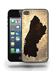El Salvador National Vintage Country Landscape Atlas Map Phone Case Cover Designs for iPhone 5 wangjiang maoyi