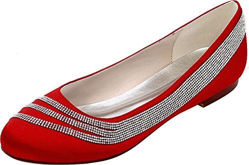 Compensées Nice Find Sandales Rouge Femme 36 5 Red pOqznqPWvd