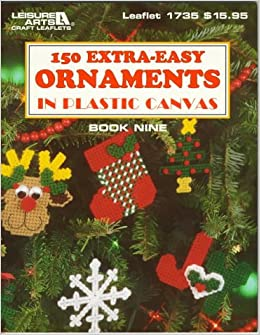 Plastic Canvas Christmas Ornament Patterns.150 Extra Easy Ornaments In Plastic Canvas Plastic Canvas